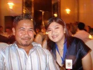 Jing Panganiban Mendoza at Gil Mendoza