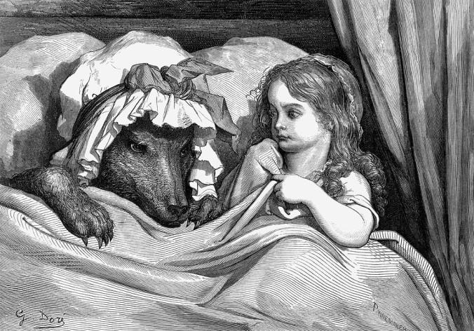 Guhit ni Gustave Dore. Dominyo ng publiko.
