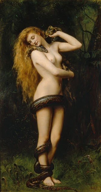 Lilith, pintura ni John Collier.
